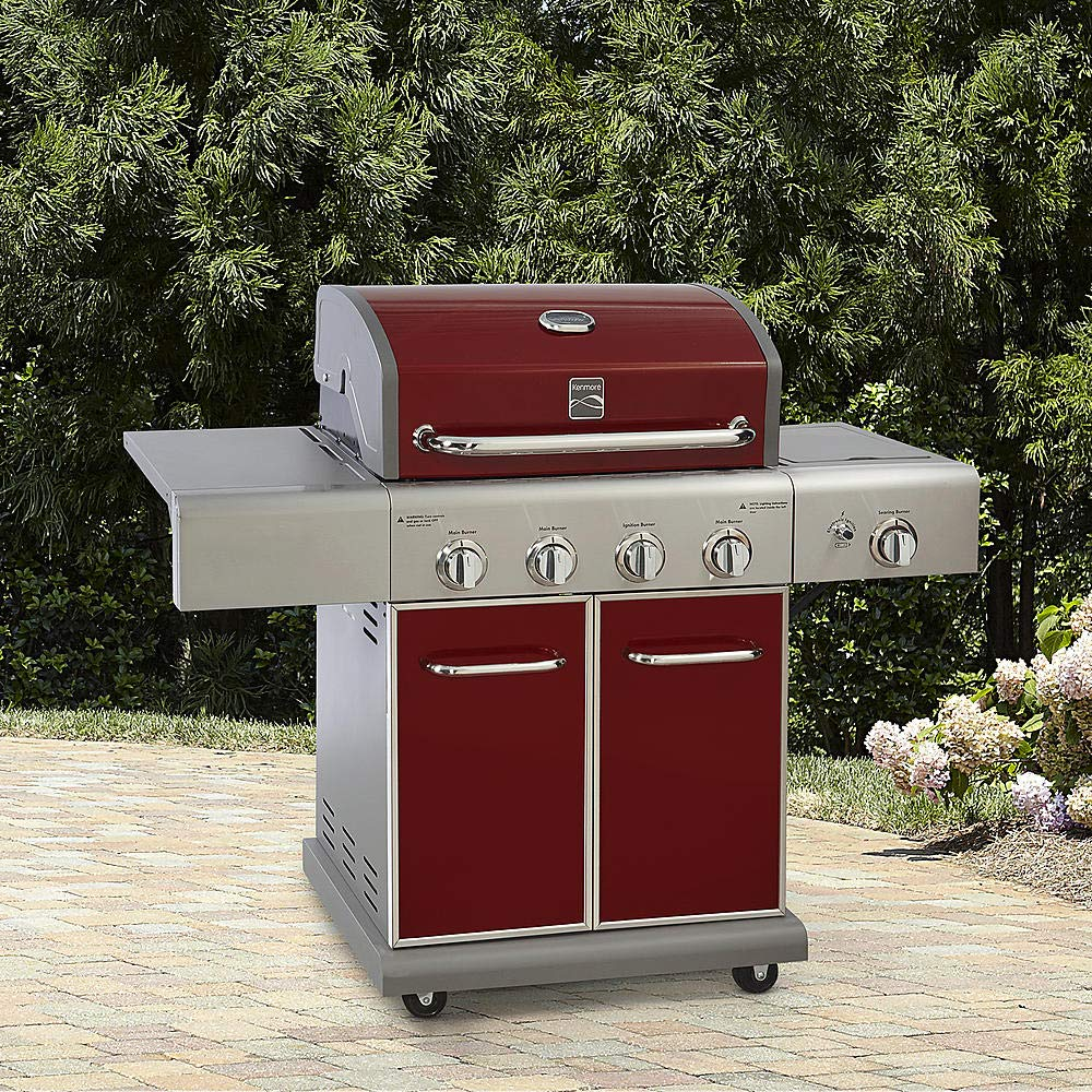 Kenmore 4 Burner LP Gas Grill