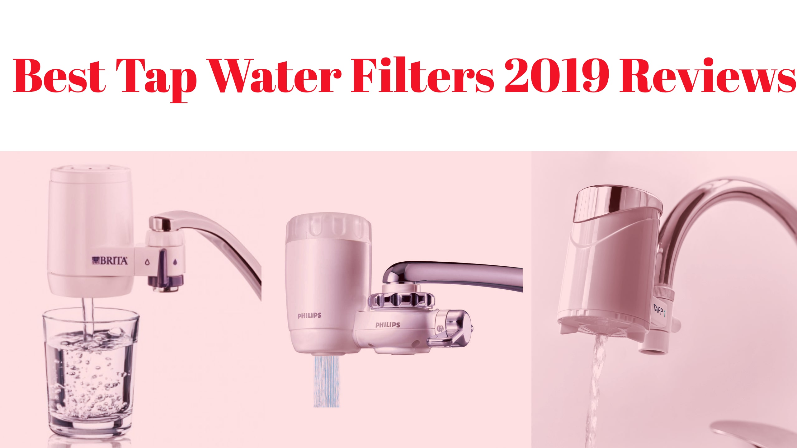 Best Tap Water Filter