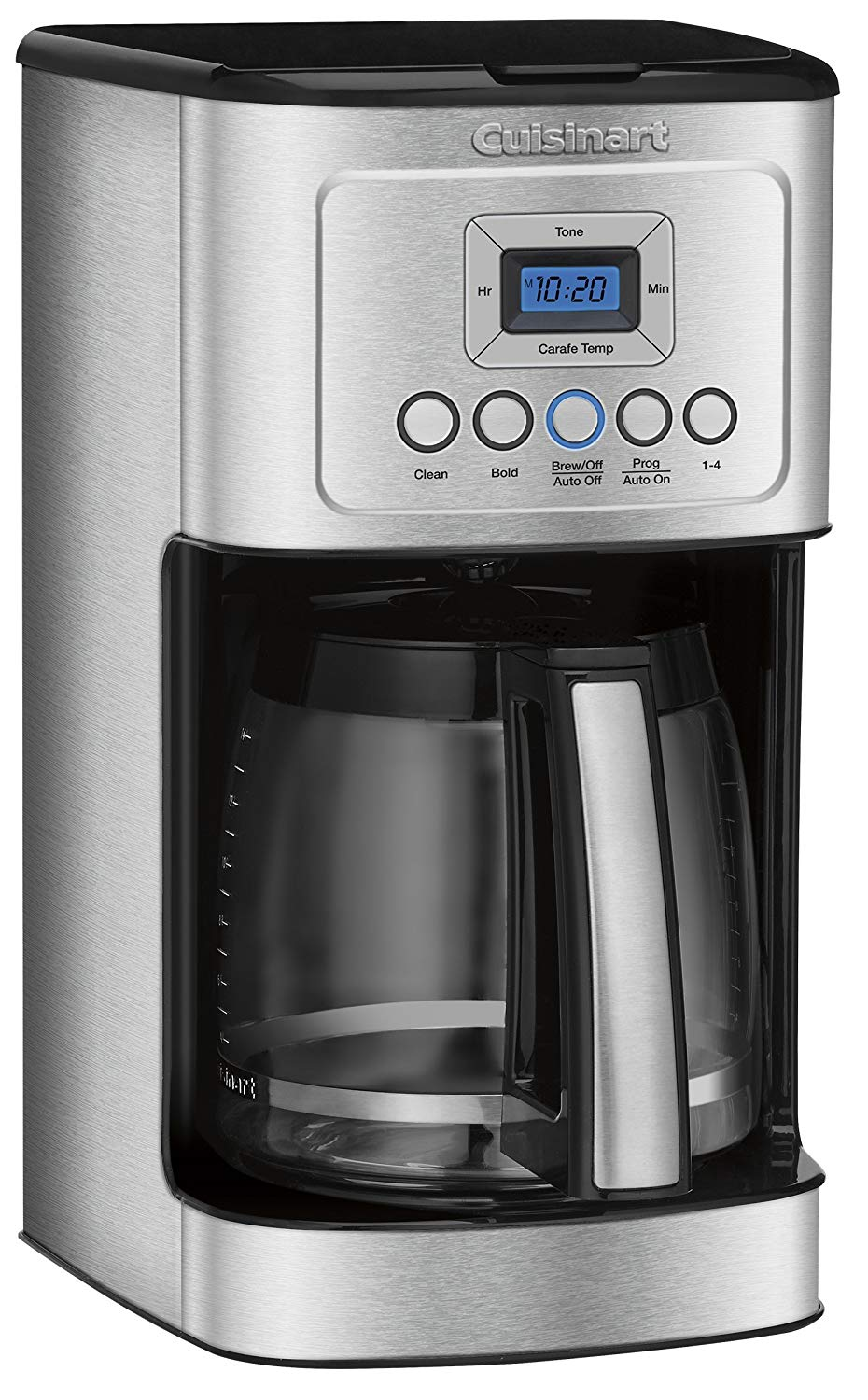 Cuisinart DCC-3200 Stainless Steel Handle Programmable Coffeemaker