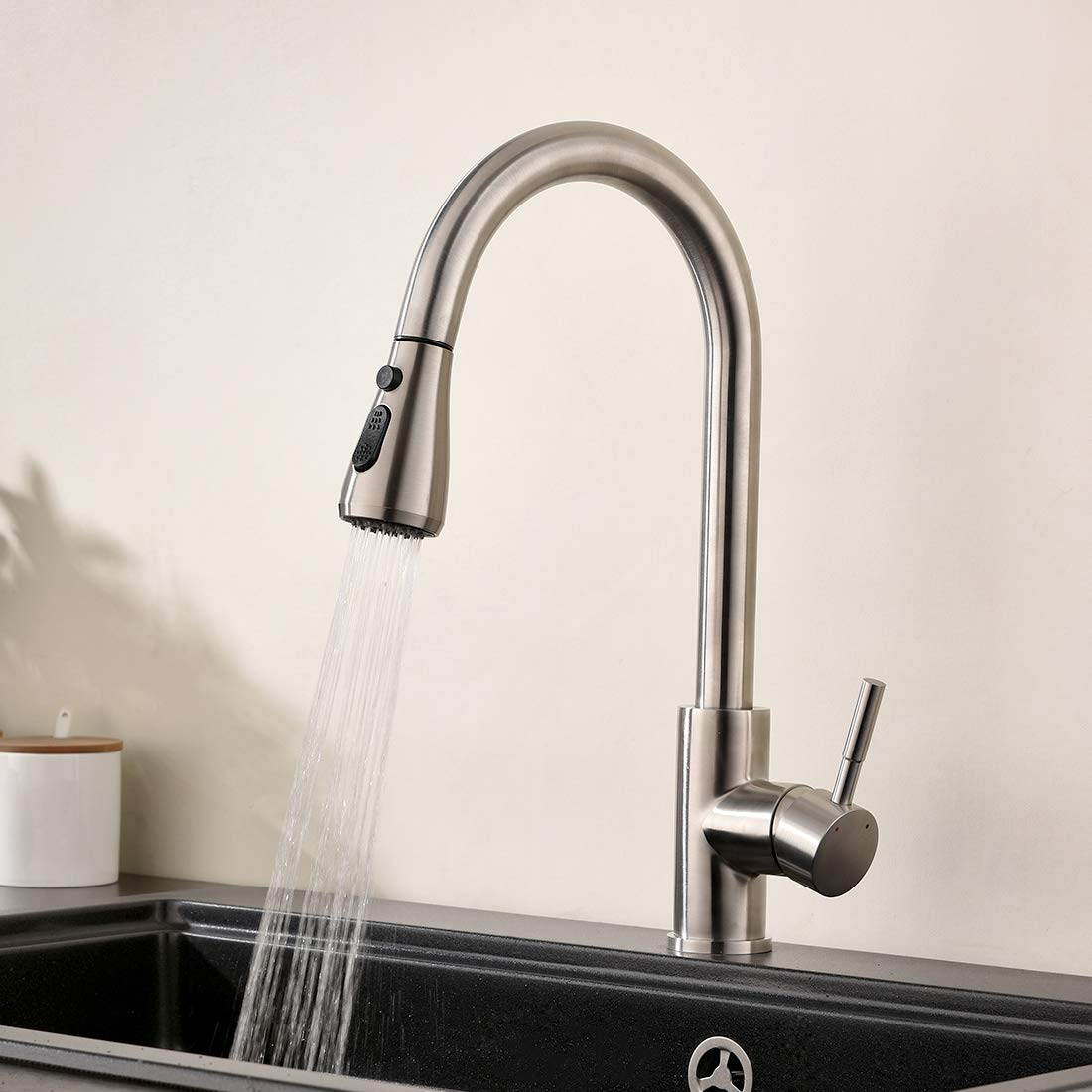 GIMILI Kitchen Faucet Stainless Steel