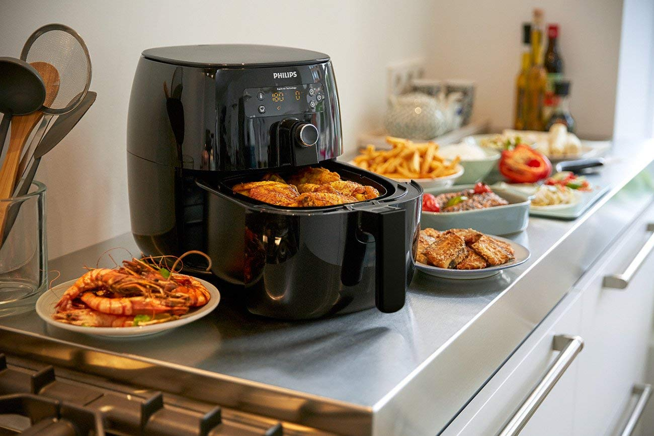 Philips HD9641/96 Avance Digital Turbostar Airfryer